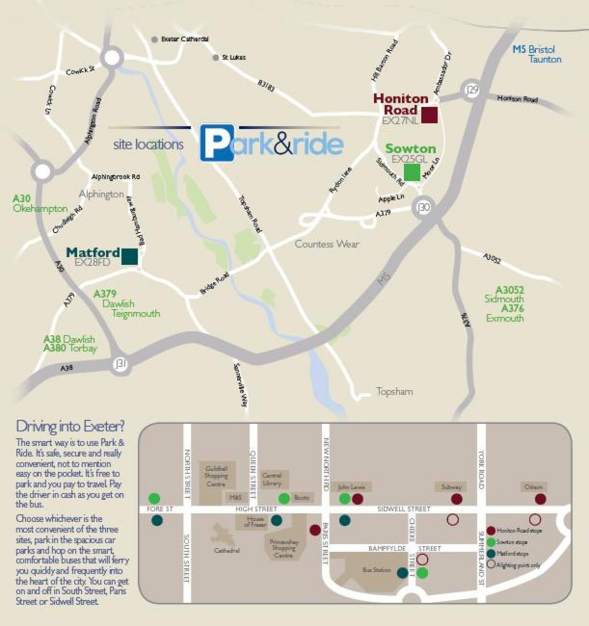 Carte de Paris park and ride